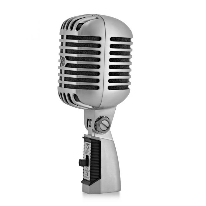Shure 55SH-II Dynamic Microphone Front Angled View