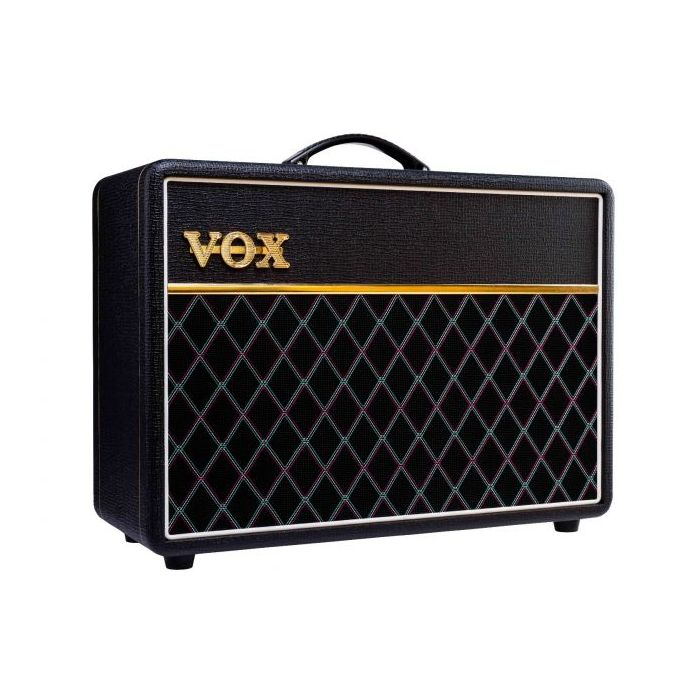 Angled View of Vox AC10C1-VB Limited Edition Vintage Black AC10 Guitar Amplifier
