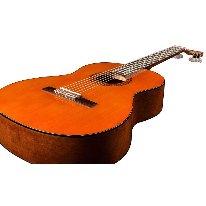 Body View of Yamaha CS40 Mk II Three-Quarter Size Classical Guitar