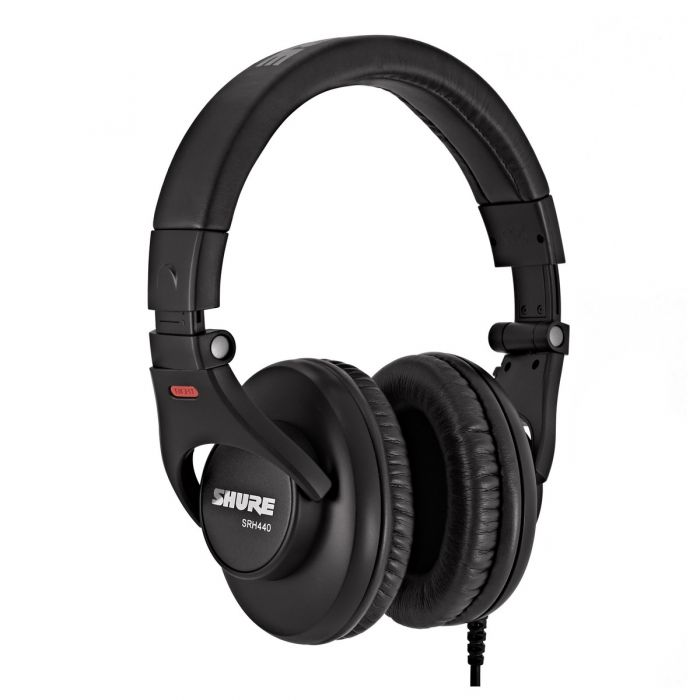 Shure SRH440 Headphones Front Angle View