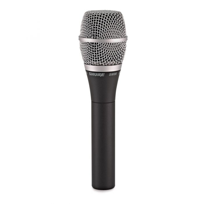 Shure SM86 Condenser Vocal Microphone Front View