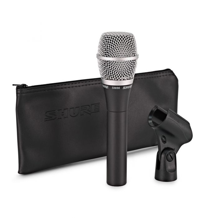 Shure SM86 Condenser Vocal Microphone With Accessories