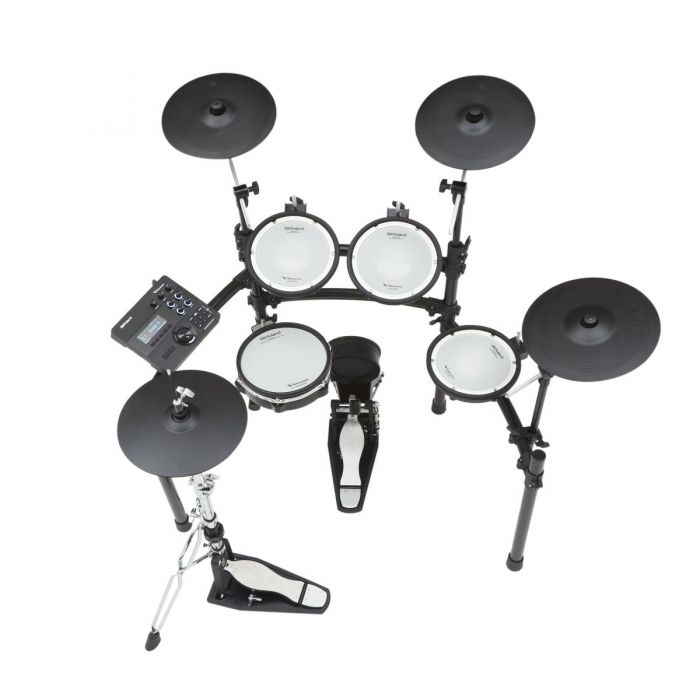 Top Down View of Roland TD-27K V-Drums Electronic Drum Kit