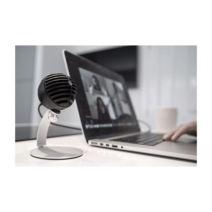 Shure MV5C Home Office Microphone In Use