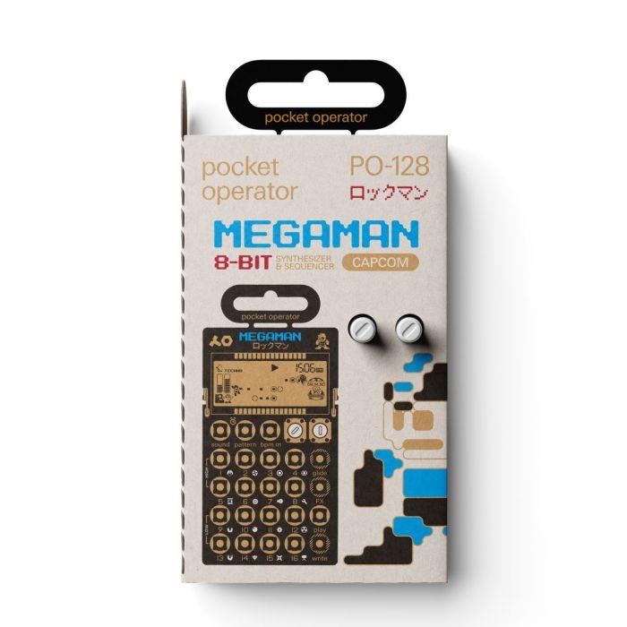 Teenage Engineering PO-128 Mega Man Packaging
