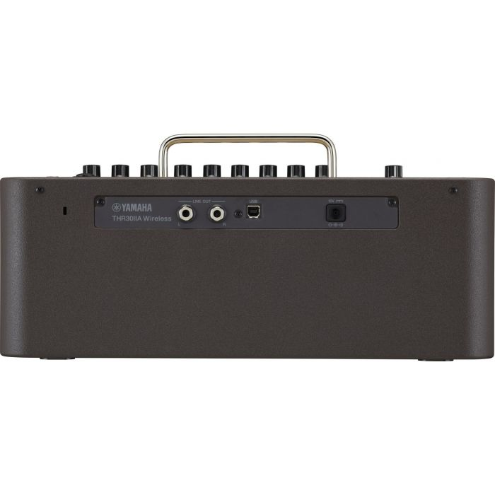 Back of Yamaha THR30IIAWL Wireless Amplifier
