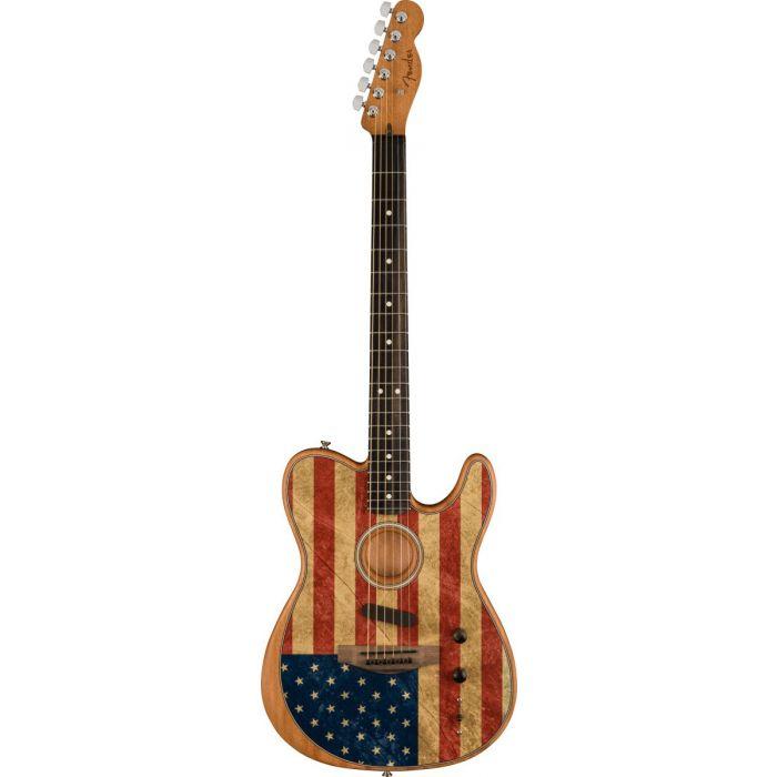 Fender American Acoustasonic Telecaster USA Flag