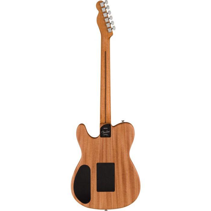 Back of Fender American Acoustasonic Telecaster USA Flag