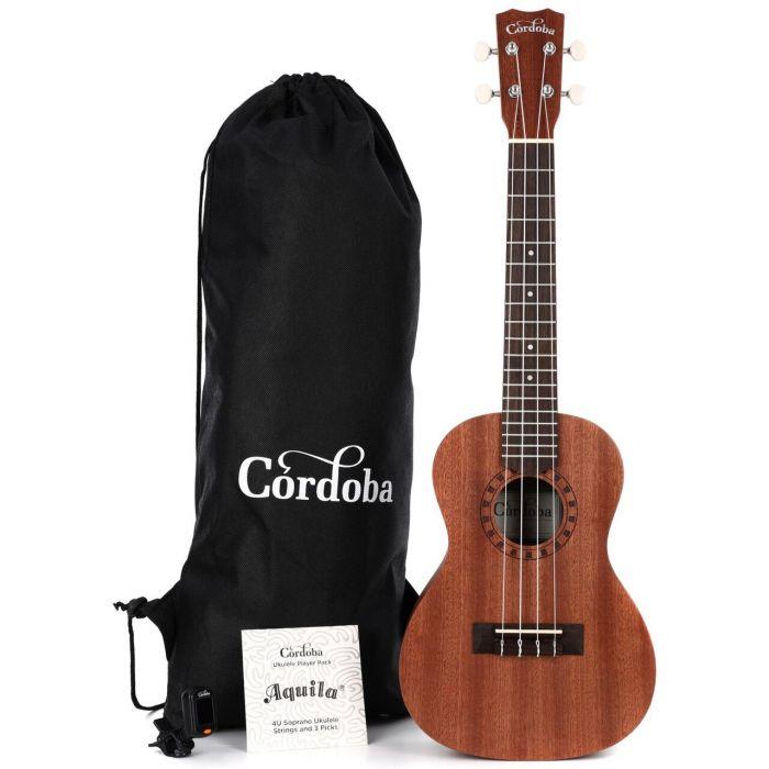 Cordoba Concert Ukulele Player Pack