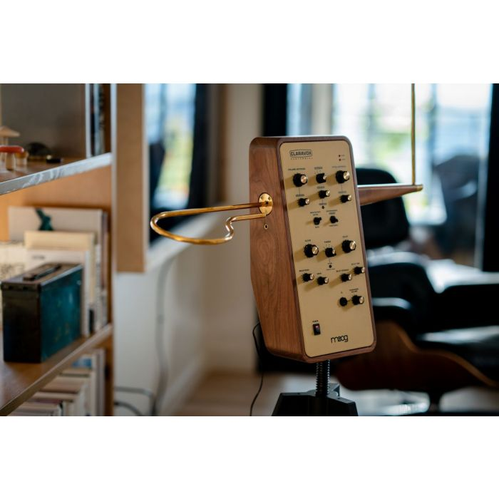 Moog Claravox Centennial Theremin with Stand At Home