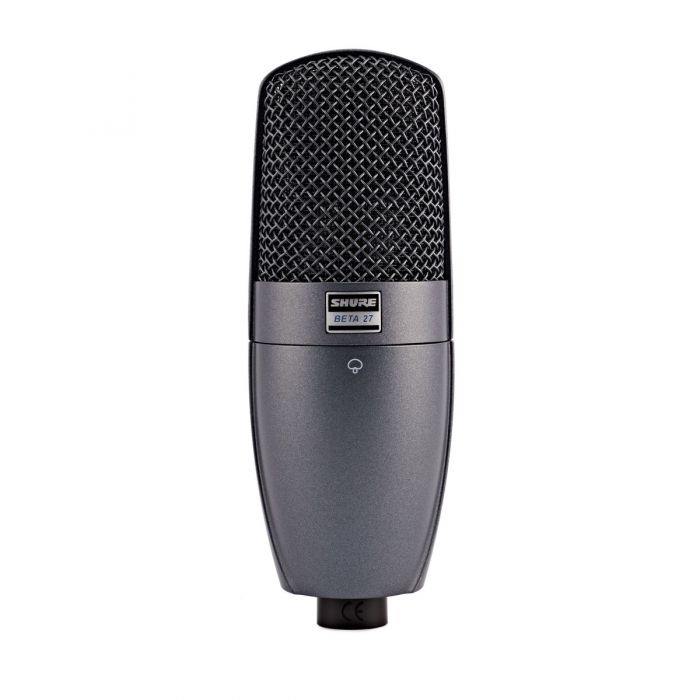 Shure BETA 27 Instrument Condenser Microphone Front View