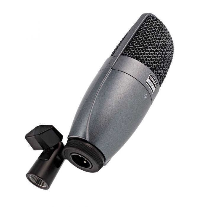 Shure BETA 27 Instrument Condenser Microphone on Mount View