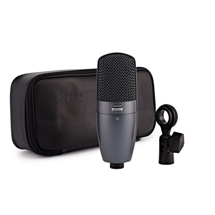 Shure BETA 27 Instrument Condenser Microphone With Accessories