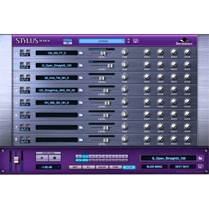 Spectrasonics Stylus RMX Xpanded Mixer