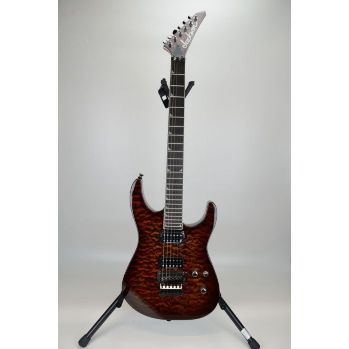 B-Stock Jackson Pro Soloist SL2Q MAH Transparent Root Beer