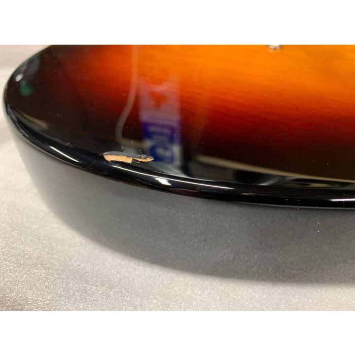 Damage on B-Stock Squier Classic Vibe '60s Stratocaster 3-Colour Sunburst