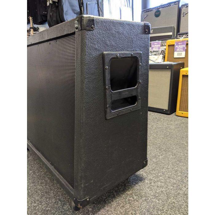 Right Side of Pre-Loved Peavey 2x12 Vintage 30s Guitar Speaker Cabinet