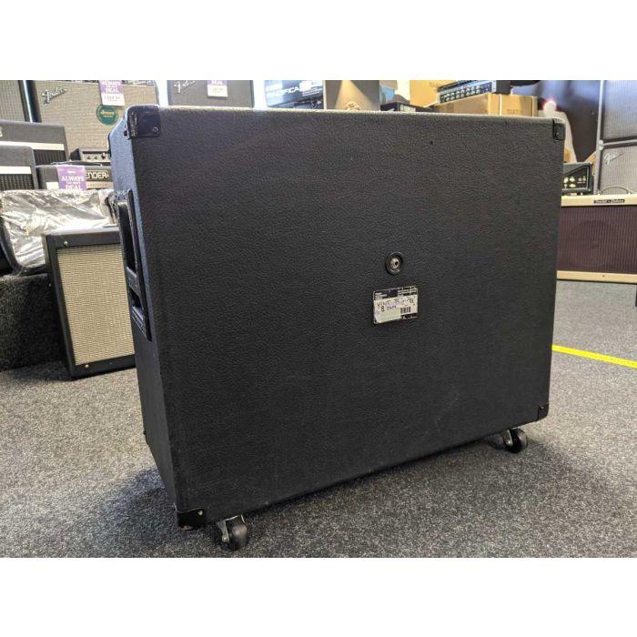 Rear View of Pre-Loved Peavey 2x12 Vintage 30s Guitar Speaker Cabinet