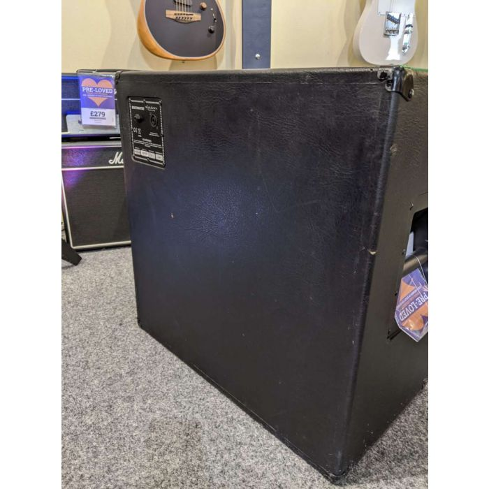 Rear View of Pre-Loved Ashdown RM MAG 410T Bass Speaker Cabinet