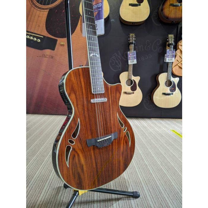 Angled Pre-Loved Crafter SA-ARW Semi-Acoustic Guitar