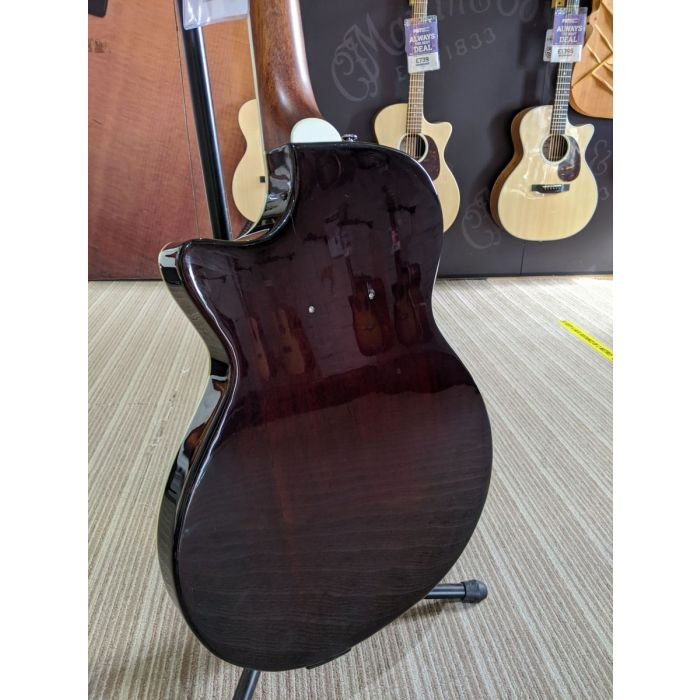 Pre-Loved Crafter SA-ARW Semi-Acoustic Guitar Back