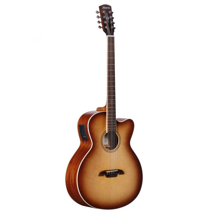 Alvarez Artist ABT60CE8SHB Baritone 8-String Electro-Acoustic Guitar