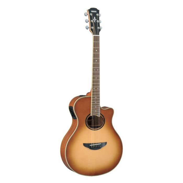 Full view of the Yamaha APX700IISB Electro Acoustic Guitar