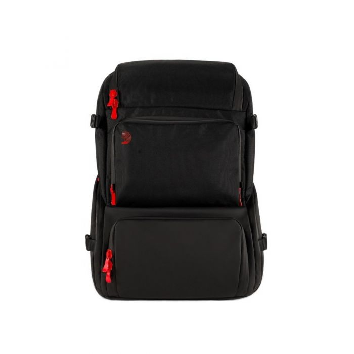 Front view of the DAddario Backline Gear Transport Pack