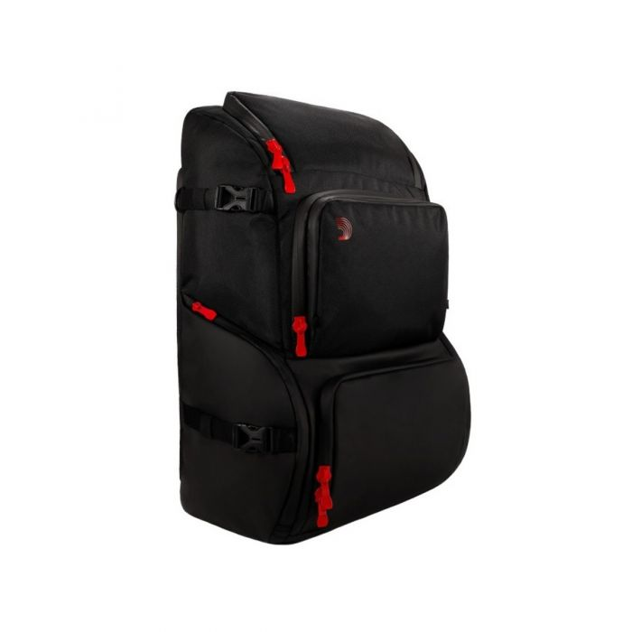 Side view of the DAddario Backline Gear Transport Pack