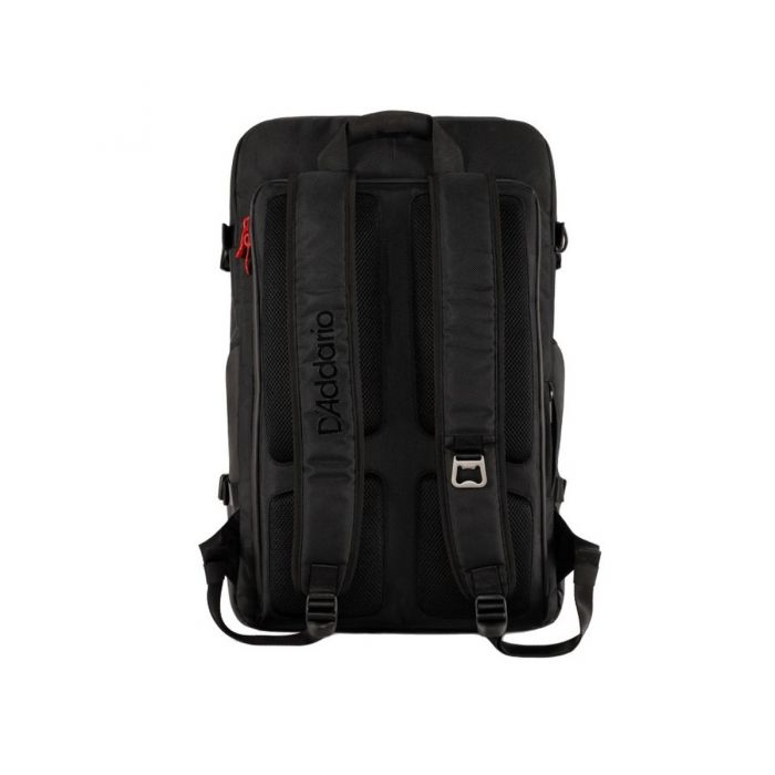 Back view of the DAddario Backline Gear Transport Pack