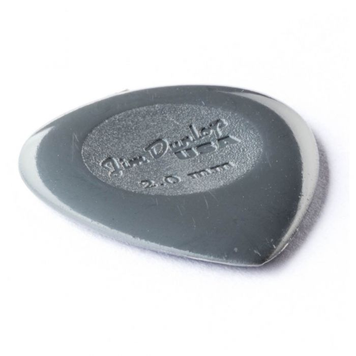 Dunlop Nylon Big Stubby 2mm  Side Angled View