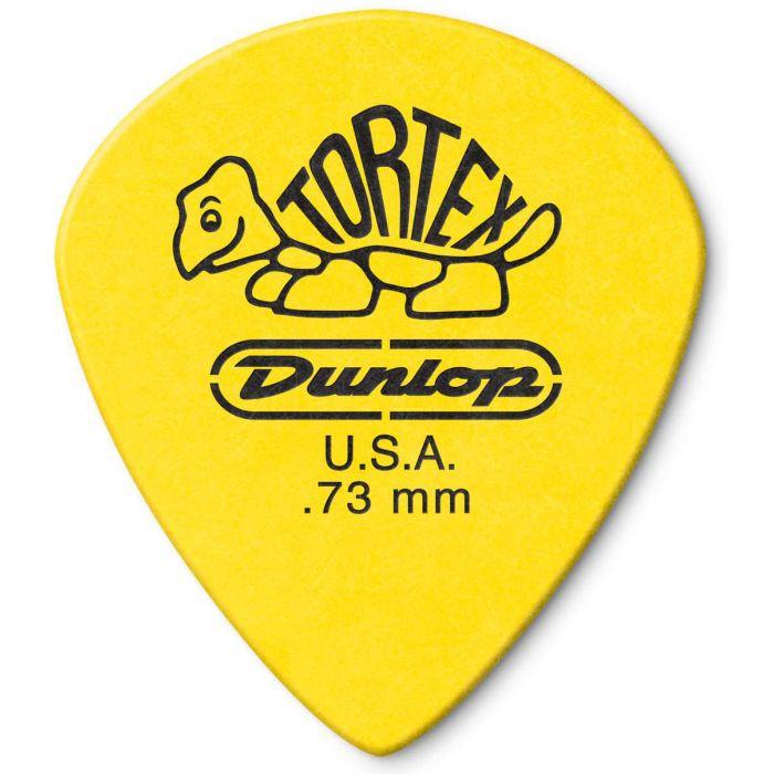 Dunlop Tortex Jazz III XL .73mm Front View