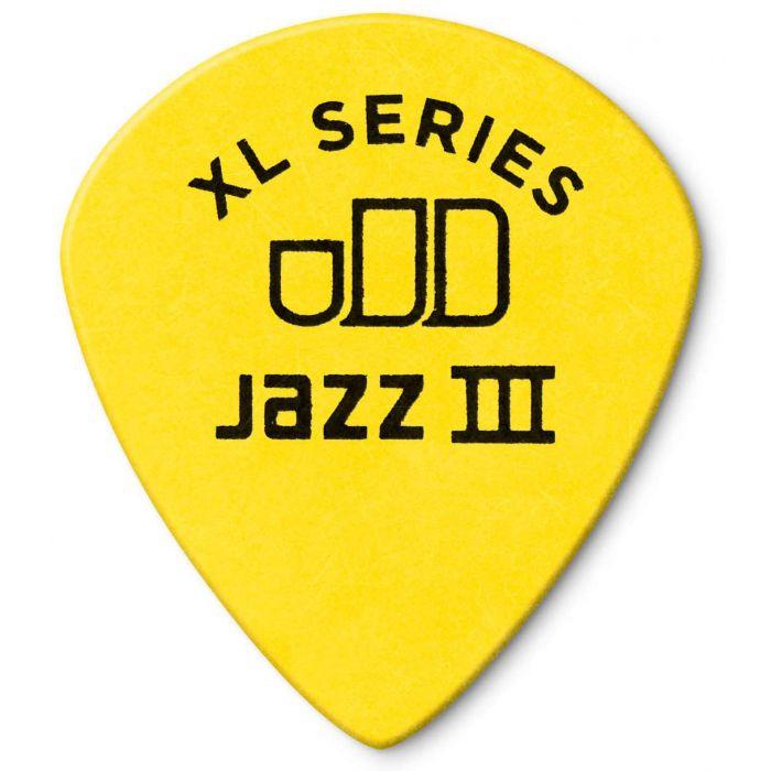 Dunlop Tortex Jazz III XL .73mm Back View