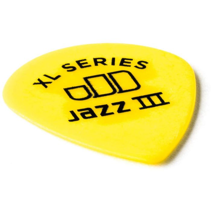 Dunlop Tortex Jazz III XL .73mm Front Angled View
