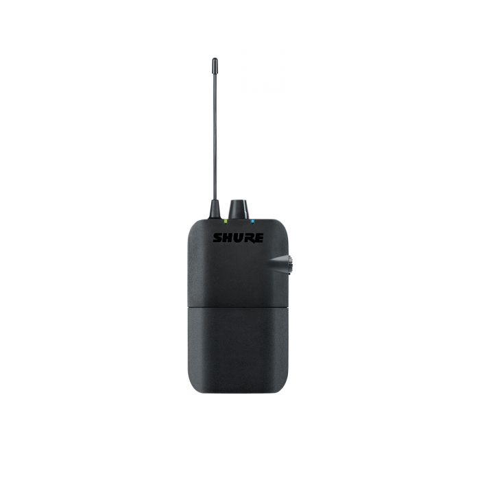 Shure P3R Wireless IEM Bodypack Receiver Front View