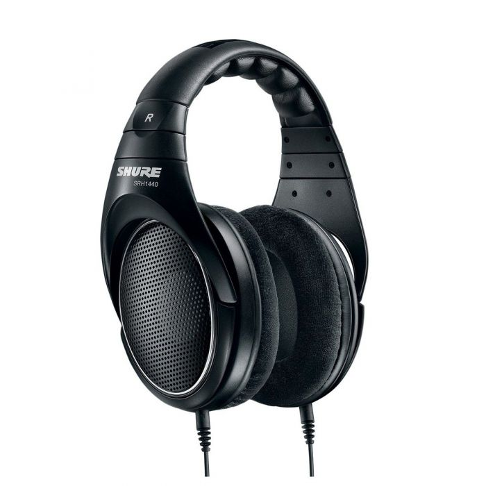 Shure SRH1440 Open Back Headphones Angled Front View