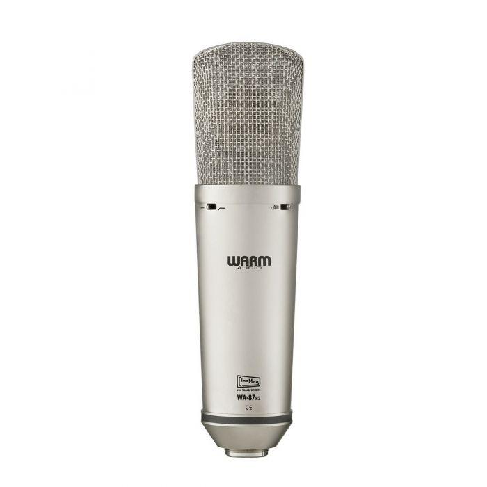 Front View of Warm Audio WA87 Studio Microphone