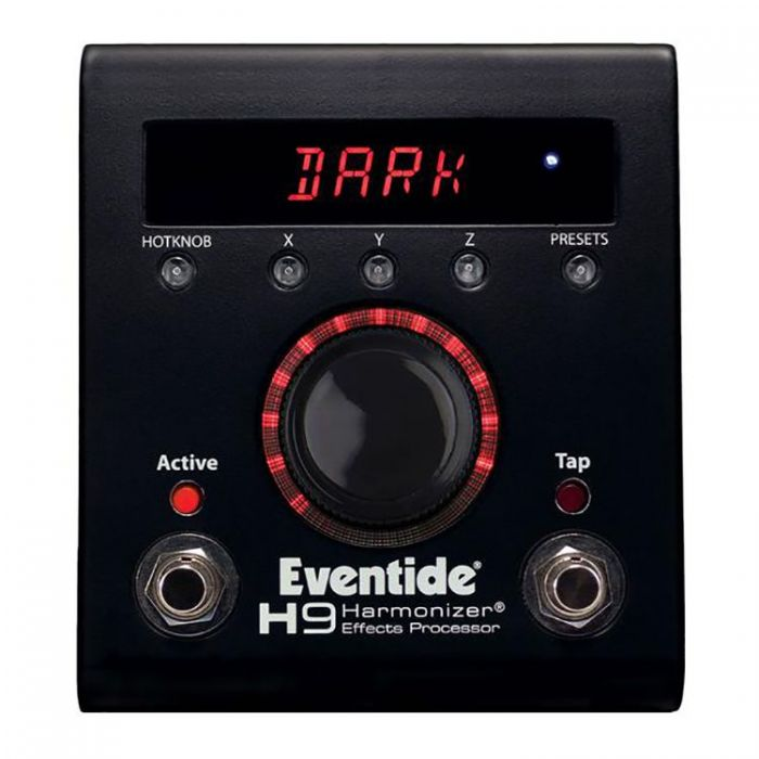 Top-down view of a Eventide Ltd Edition H9 Max Dark Multi-FX Processor