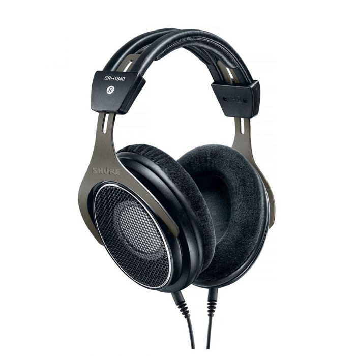 Shure SRH SRH1840-BK Headphones Angled Front View