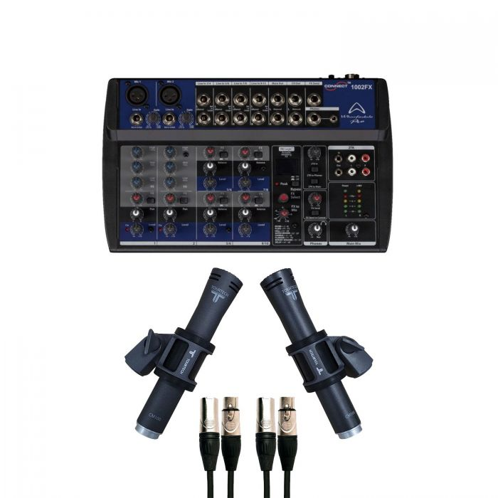 TourTech Podcast Microphone Package