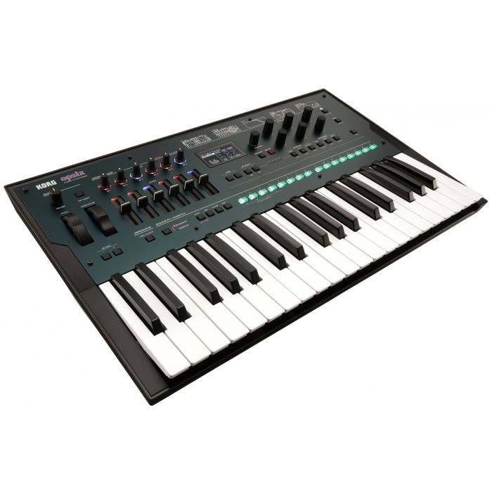 Angled View of Korg Opsix Altered FM Synthesizer