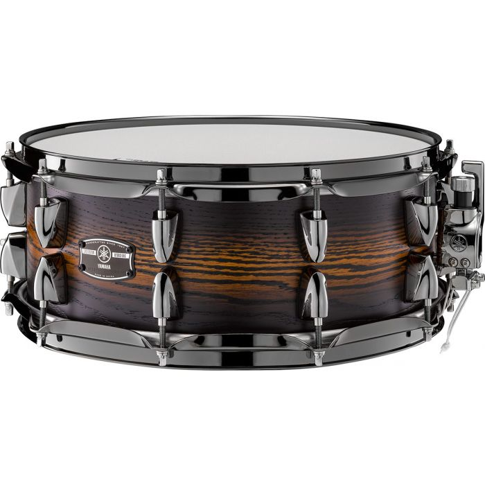 Overview of the Yamaha Live Custom Hybrid Snare in Eath Sunburst