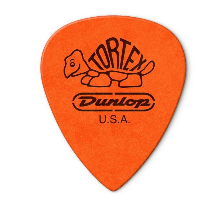 Back view of the Dunlop Tortex III .60mm