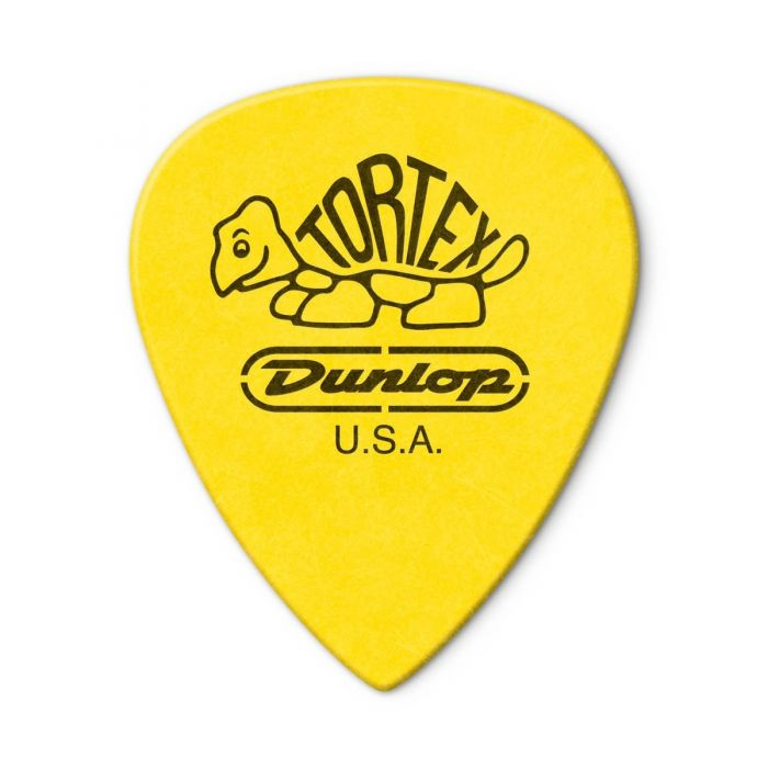 Back view of the Dunlop Tortex III .73mm