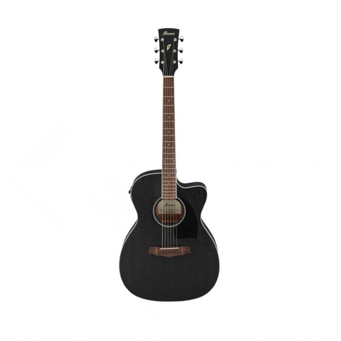 Overview of the Ibanez PC14MHCE-WK PF Electro Acoustic Weathered Black