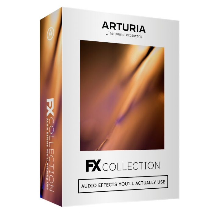 Full view of an Arturia FX Collection Digital Download