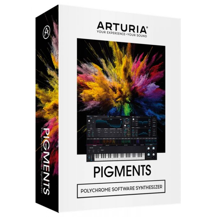 Full view of a Arturia Pigments Advanced Software Synthesizer