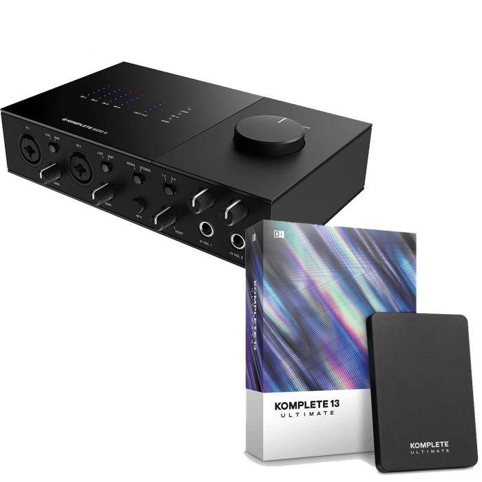 Native Instruments Komplete Audio 6 MK2 with Komplete 13 Ultimate