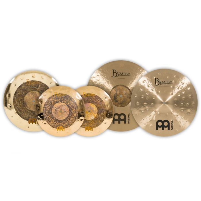 Cymbal Overview of the Meinl Byzance Assorted Cymbal Set