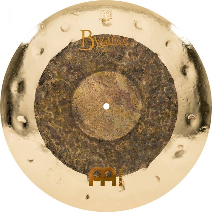 View of the Meinl Byzance 18 Inch Crash